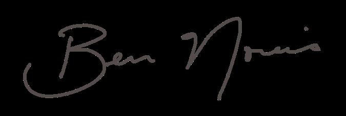 Ben Norris signature