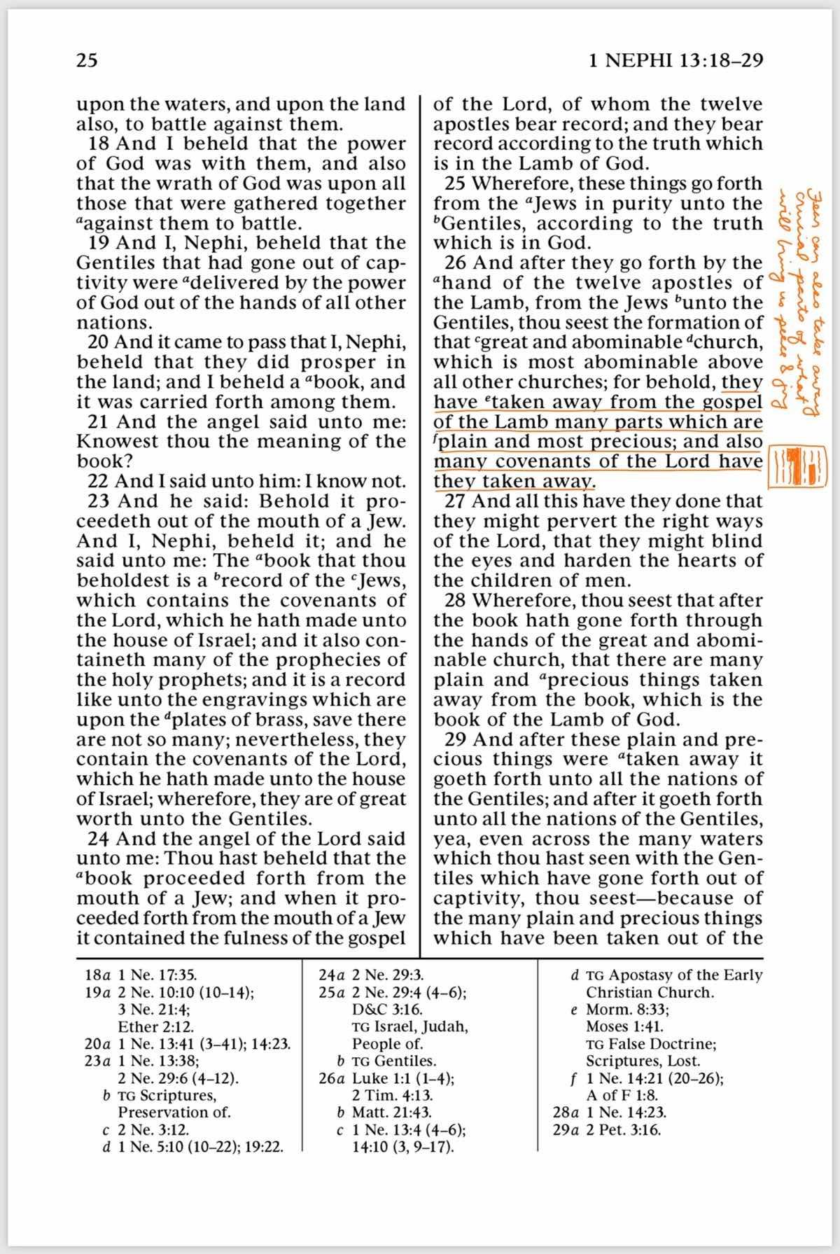 1 Nephi 13 Part 2
