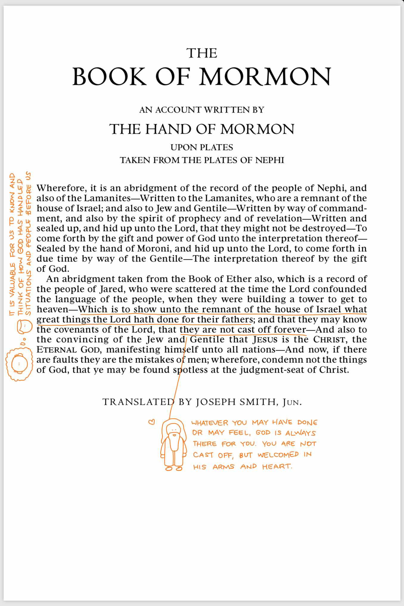 Book of Mormon Title Page