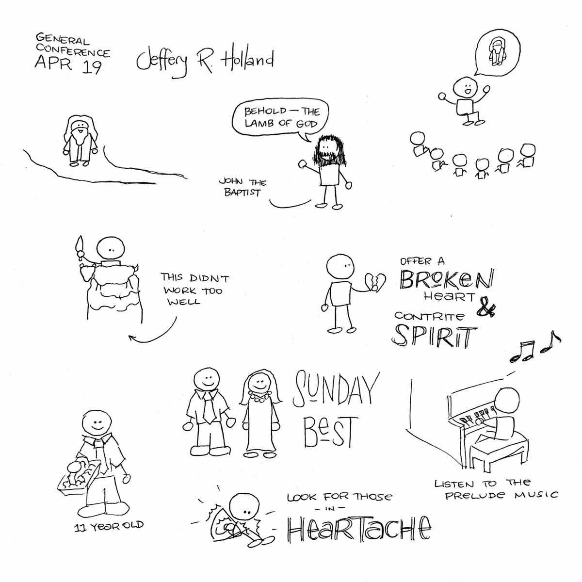 Elder Holland Sketchnotes