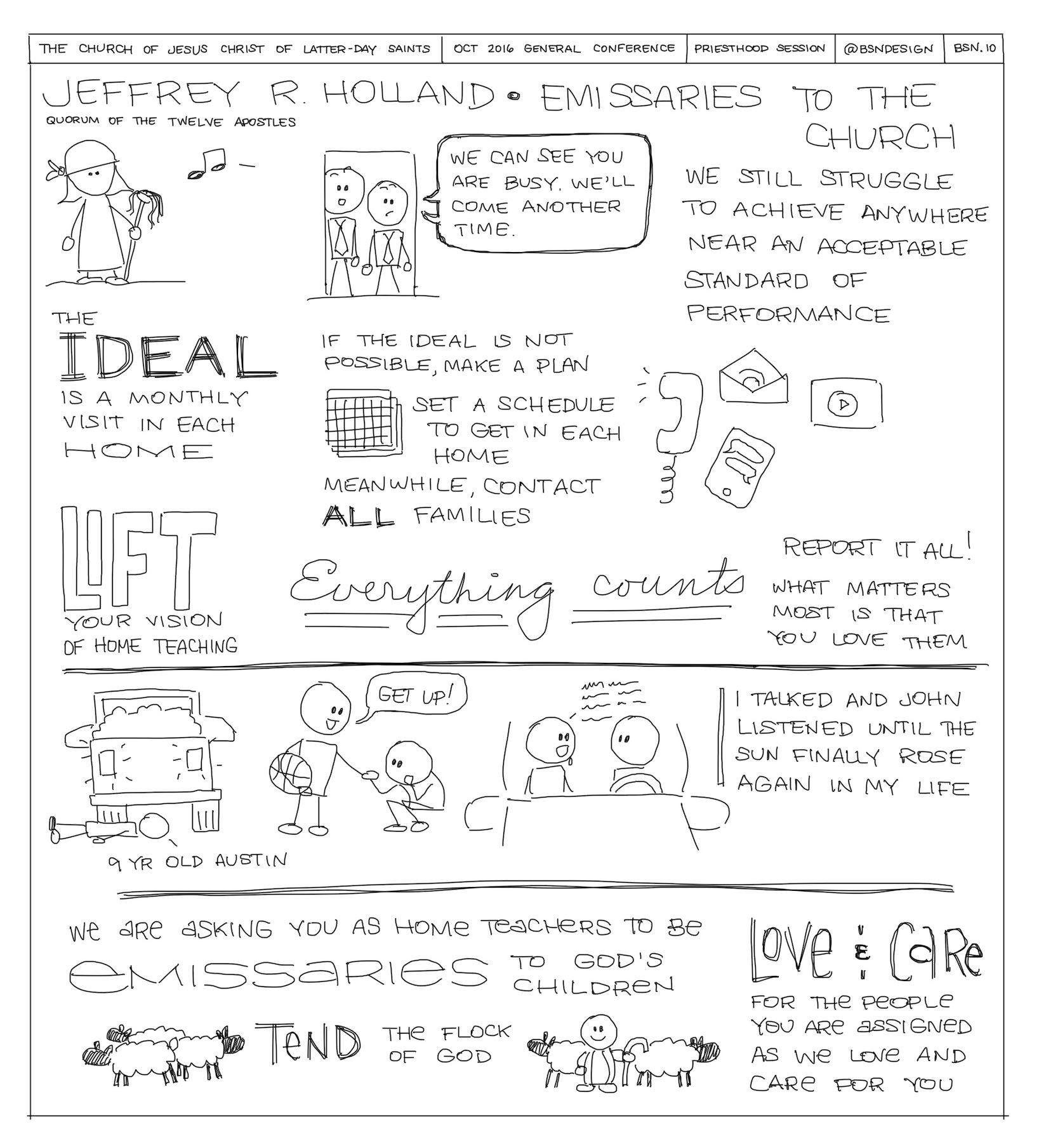 General Conference Sketchnotes 18