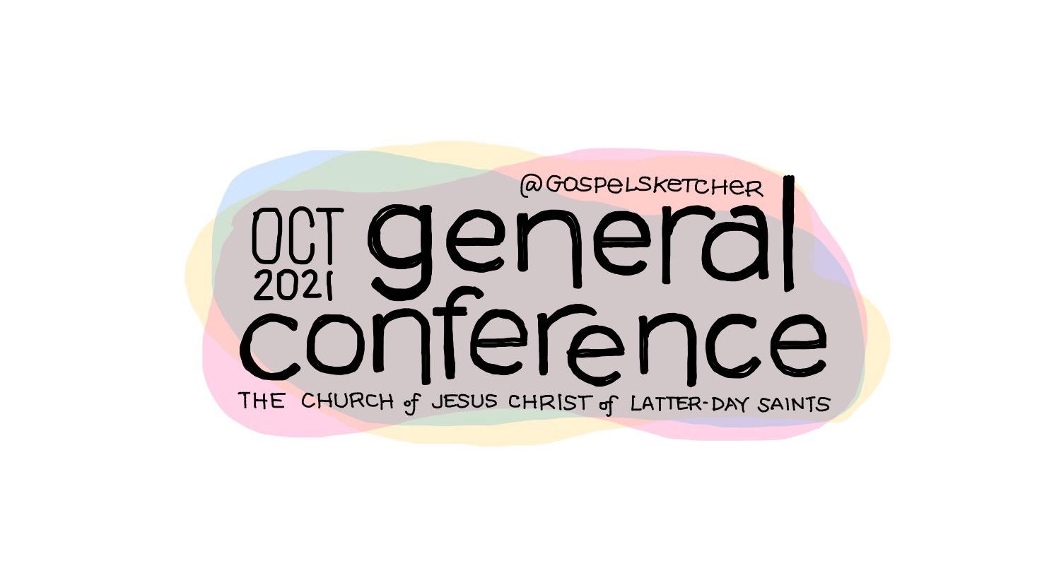 General Conference Sketchnotes Oct 2021