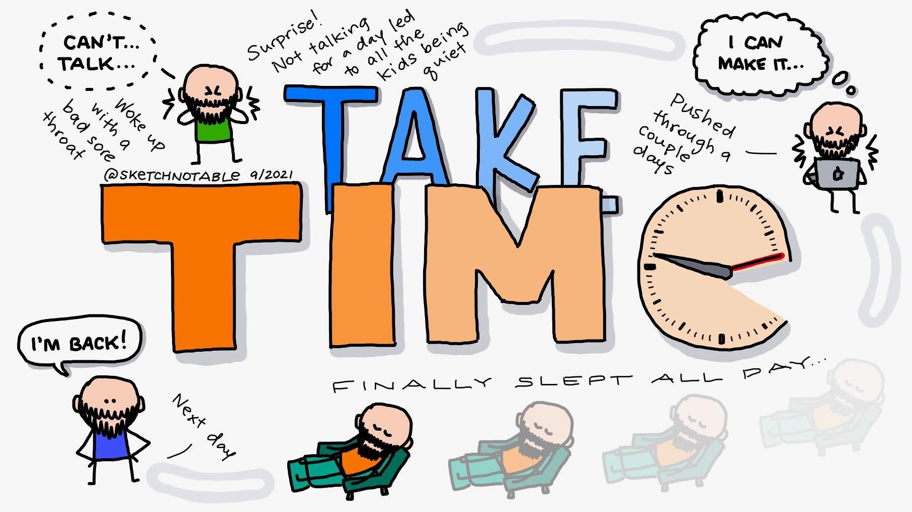 #52: Take time