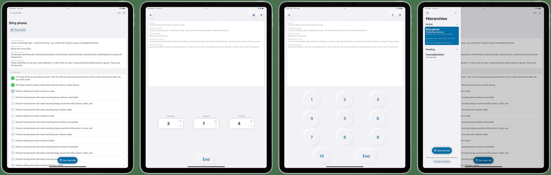 OCD ERP app