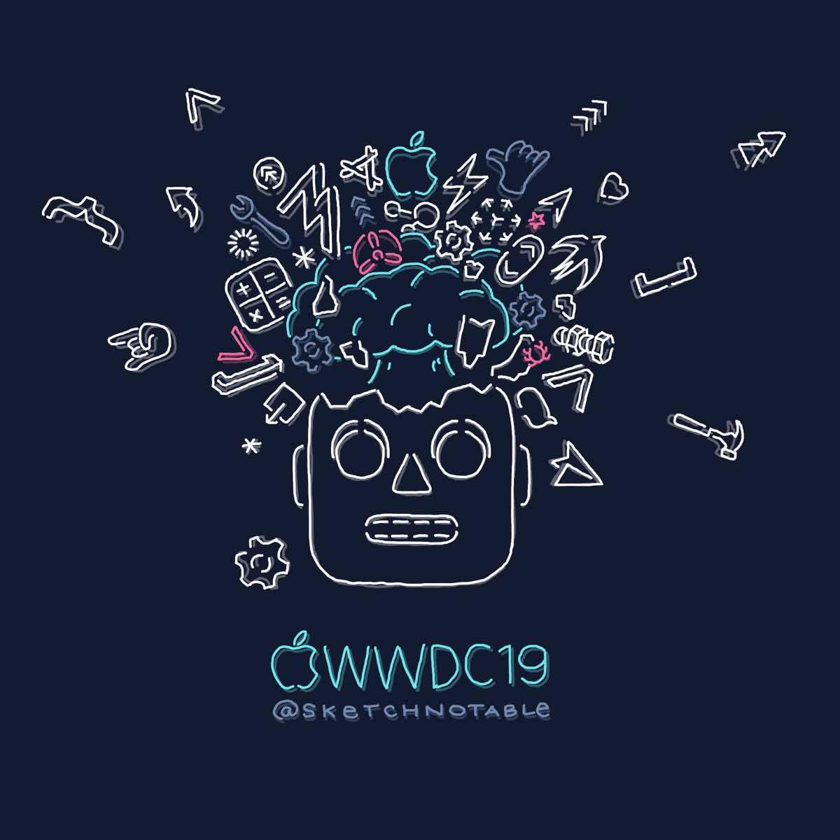 WWDC Sketchnotes